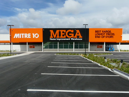 Mitre 10 Mega in Queenstown, New Zealand will officially open this year
