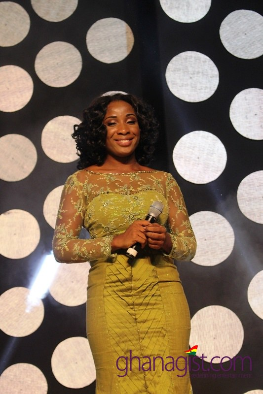 Naa Ashorkor at Africa Movie Academy Awards 2014