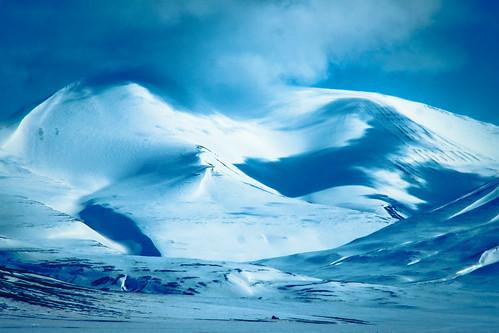 norway norge svalbard spitsbergen adventdalen longyearbyen