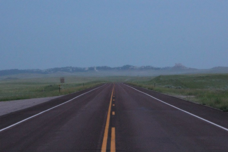 Road in Wyoming