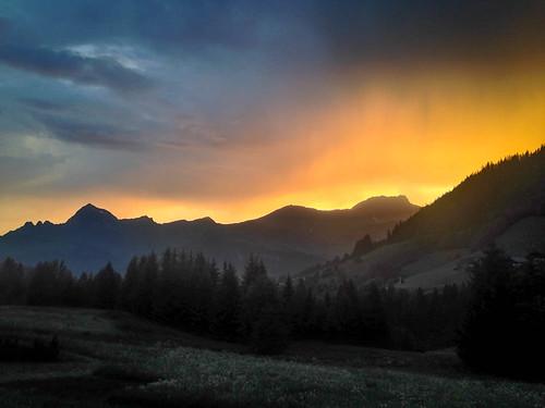 sunset france alps fr rhônealpes notredamedebellecombe joepike