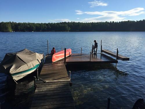 Maine Lake Vacation 2015