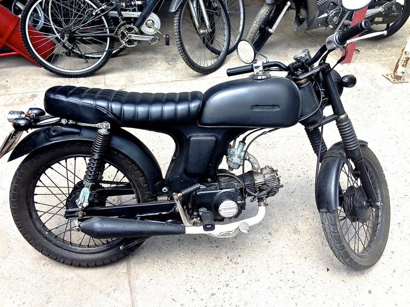 Honda - Bán HONDA 67 độ street tracker đen mờ cực đẹp.