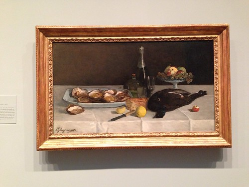 Early Gauguin still life