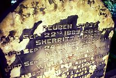 Unusual names, Beckett Street Cemetery