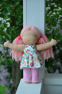 "Tessa 12"" Violet & Poppies doll"