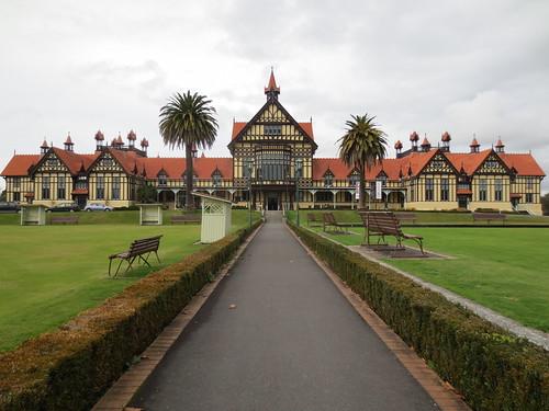 Rotorua Bath House (now Rotorua Museum)