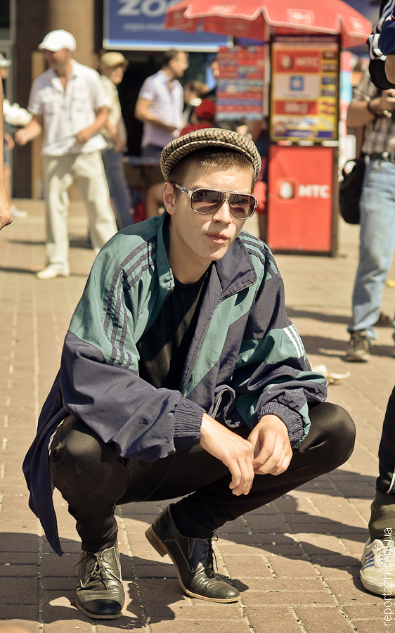 Київ завойовують послідовники гоп-культури