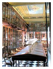 Foto de la biblioteca del Ateneu Barcelonés