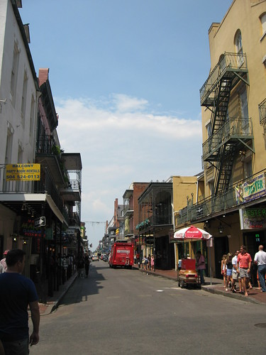 Bourbon Street on a Thursday afternoon