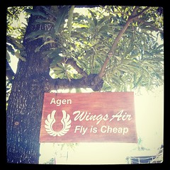 Fly is cheap! That's the most important thing about fly, right?