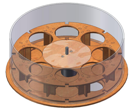 Rotating disk - hollow