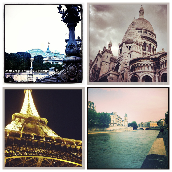 Paris, Eiffel Tower, Grand Palias, Sacre Couer, Siene River,