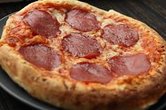 sausage, sicilian pizza, pizza cheese, pizza, food, dish, cuisine, pepperoni,