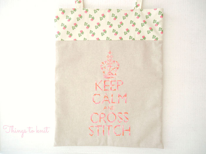 keep calm and cross stitch on