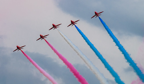 Red Arrows NL Air Force Days