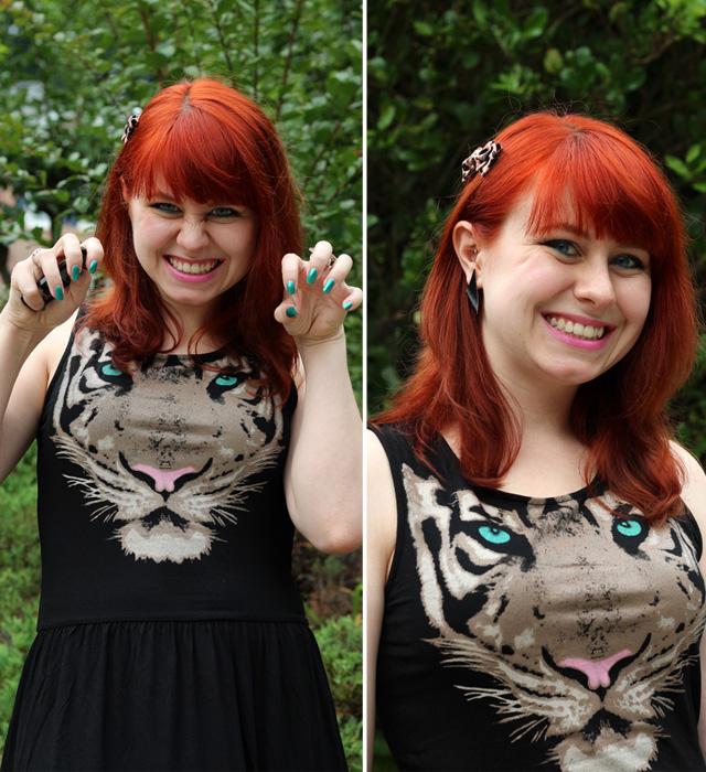 Rawr Tiger Dress