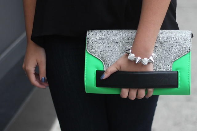 Living After Midnite: Stud Pumps & Lime Green Clutch