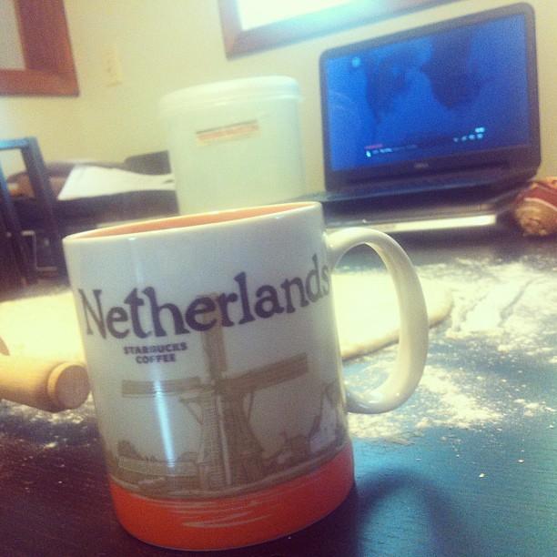 New mug. Thanks, mom!