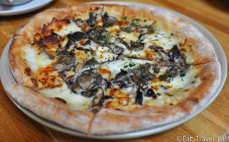 Wild Mushroom Pizza California Pizza Kitchen
