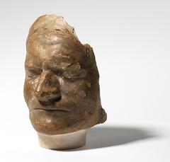 Isaac Newton death mask