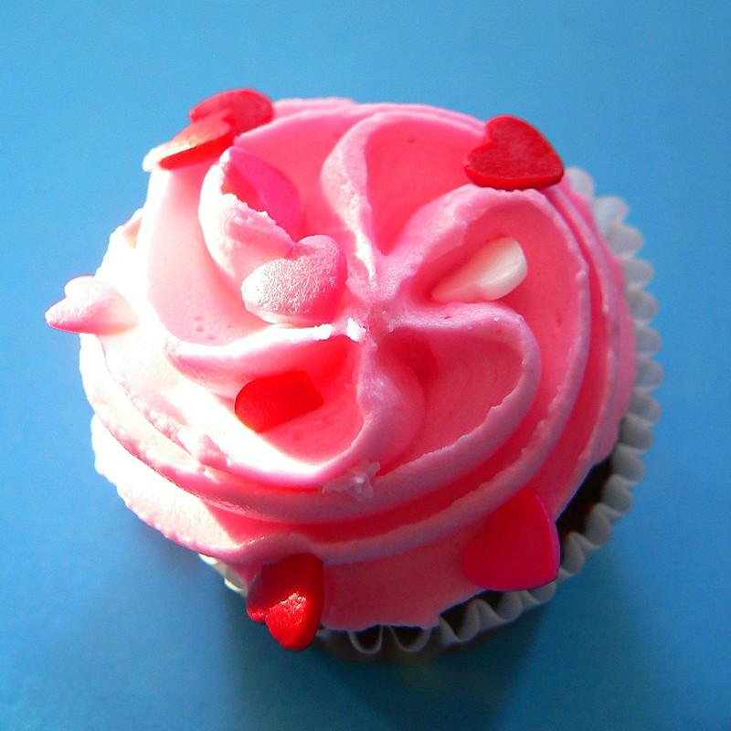 pink cupcake 1