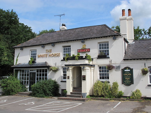 The White Horse pub Pulborough West Sussex UK