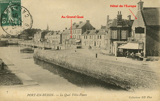 Hôtel de l'Europe et café du Grand Quai, Quai Felix Faure