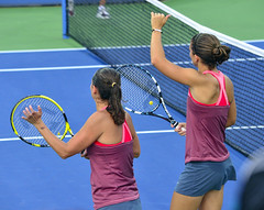 2013 US Open (Tennis) - Roberta Vinci and Sara Errani