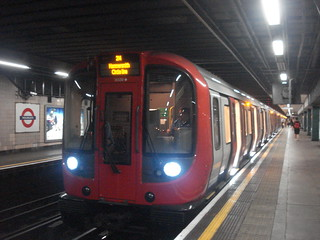 S7 21330 on Circle Line, Moorgate