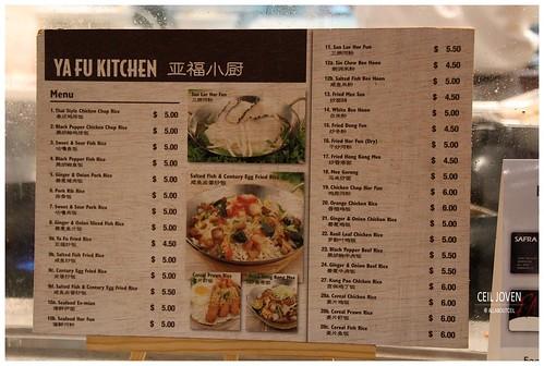 ALL ABOUT CEIL: Ya Fu Kitchen at Causeway Point, Woodlands.