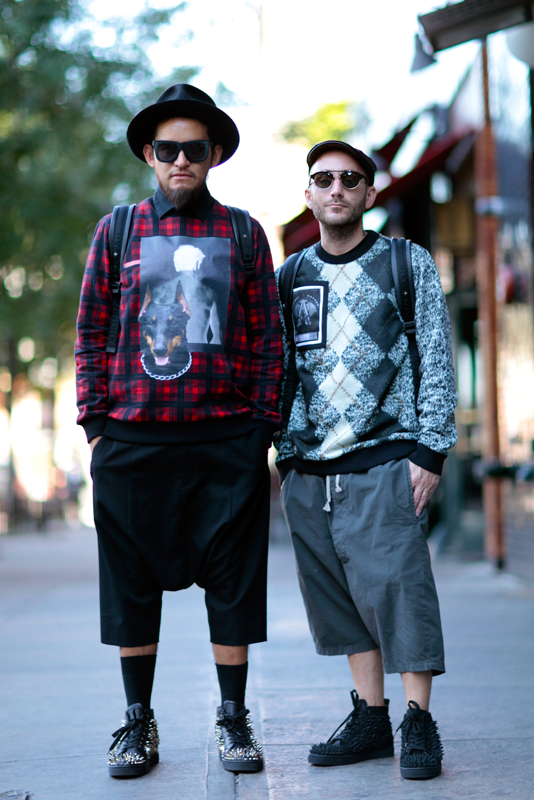 2sweaters_ss14 men, NYC, NYFW, street fashion, street style