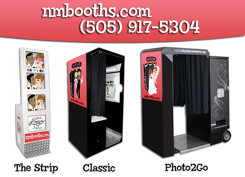 nmbooths.com lineup of Photo Booths!