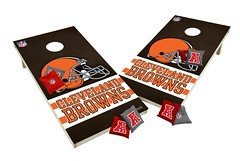 Cleveland Browns Custom Cornhole Boards XL