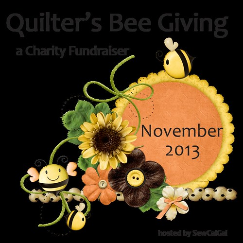 quilter's bee giving badge