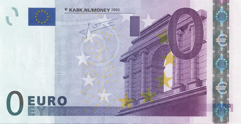 0 Euro | Artwork by Lars Hulst