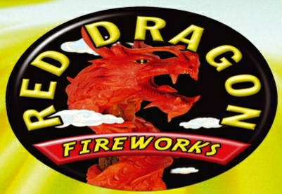 Red Dragon Fireworks Logo