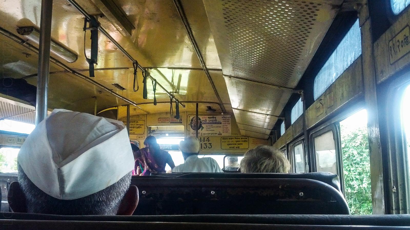 Bus ride to Bamnoli