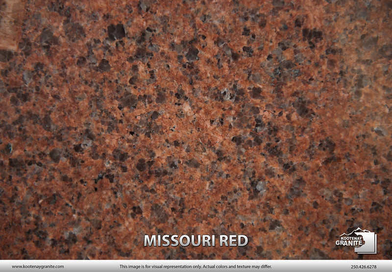 Missouri Red Granite : Granite gallery kootenay