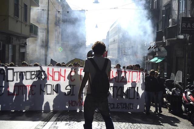 1000 in piazza. 19 ottobre è solo l'inizio. Le lotte non si arrestano