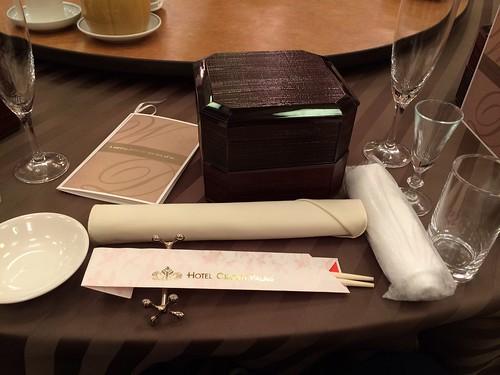 ホテルクラウンパレスで披露宴 by haruhiko_iyota