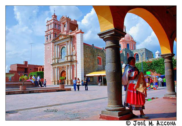 México. Tequisquiapan. Iglesia de la Asunción.