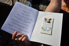James and Meike's Wedding - Wedding Program