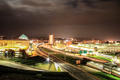 longexposure clouds canon photography lights cool capital nighttime albany empirestateplaza
