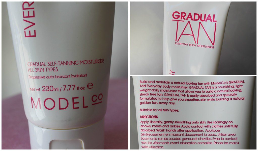 Model co modelco gradual tan tanner self tanning summer bronze skin body sun light review australian beauty review ausbeautyreview blog blogger aussie priceline packaging
