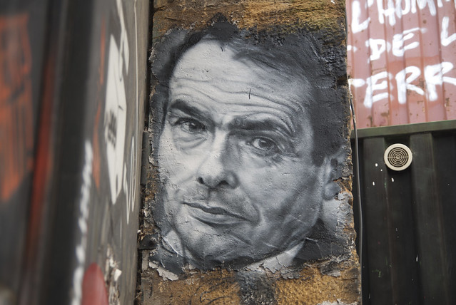 Pierre Bourdieu, painted portrait DDC_8931