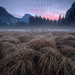 Half Dome over Sunrise Mist in Yosemite Valley
