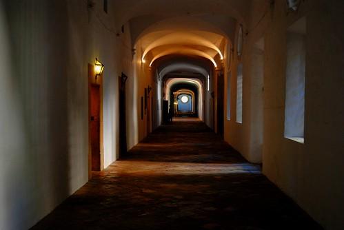 Monastery Hallways