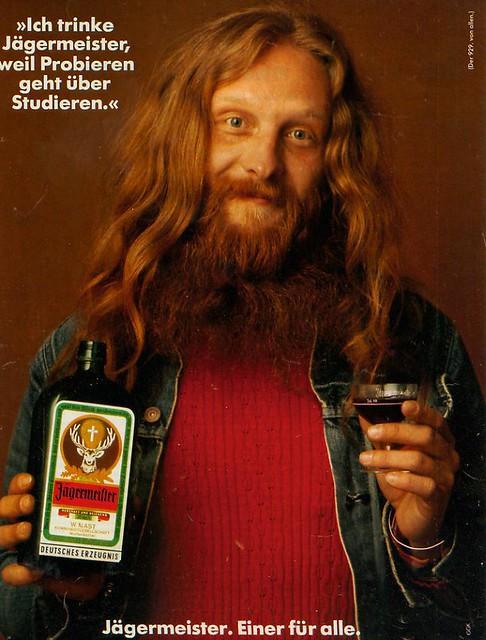 GGK Düsseldorf (DE) 1976 Jägermeister - Der 929. von allen Anzeige