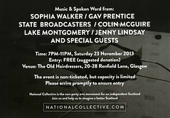 National Collective leaflet, November 2013